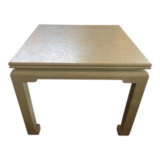 Raffia Game Table