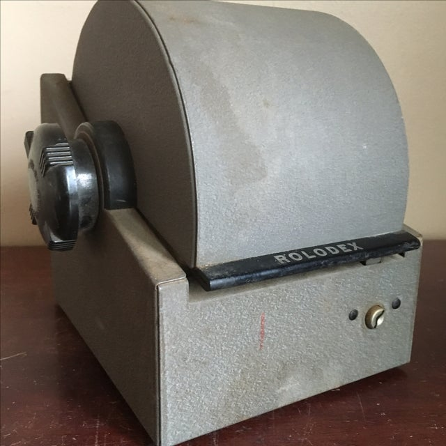 Vintage Rolodex Model 2254D - Image 5 of 9