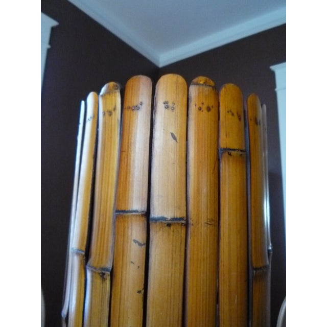 Bamboo Umbrella Stand with Liner - Image 5 of 5