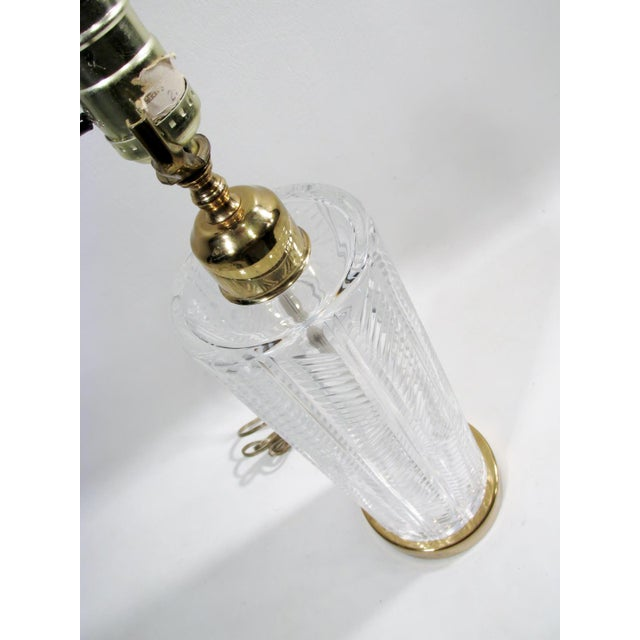 Vintage Waterford Irish Cut Crystal Table Lamp - Image 7 of 9