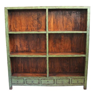 Vintage Green Shelf