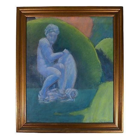 Vintage Painting - Faun by Bjorn Rye - Image 1 of 3