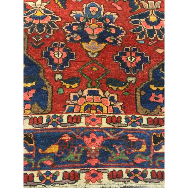 "Vintage Bellwether Rugs Persian Bactiari Area Rug - 6'9""x10'2"" - Image 11 of 11"