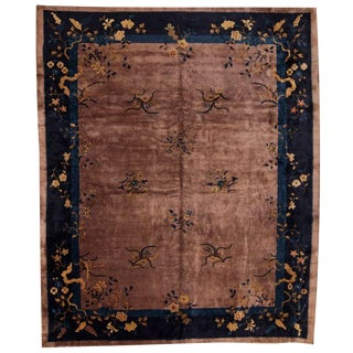 Antique Chinese Nichols Carpet