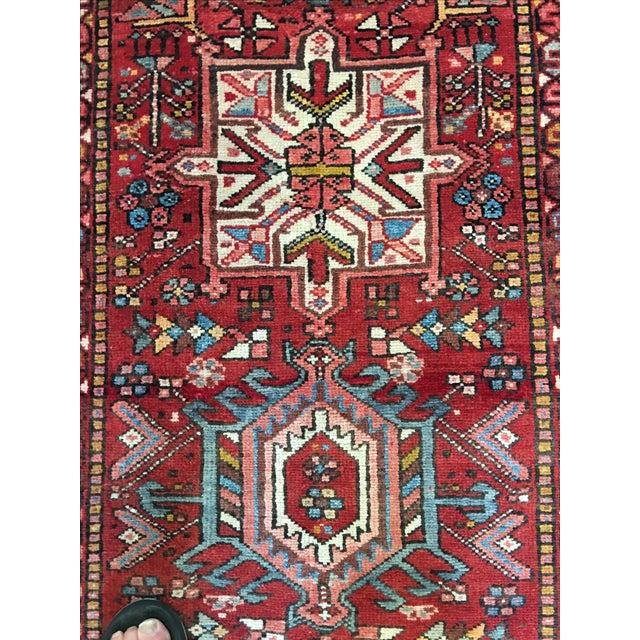 """Vintage Karajeh Persian Runner Rug - 2'4"""" X 8'11"""" - Image 5 of 9"""