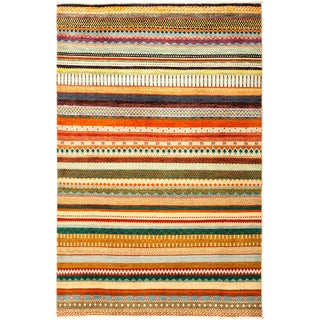"""Lori Hand Knotted Area Rug - 4'1"""" X 6'1"""""""