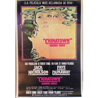 Original Vintage Spanish Chinatown Poster