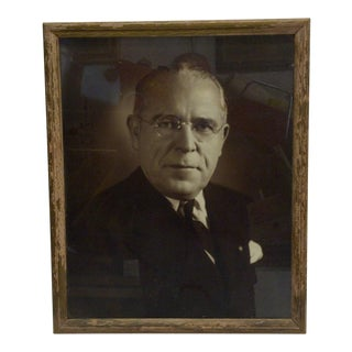 Vintage Black & White Photograph of Mayor David L. Lawrence , 1940