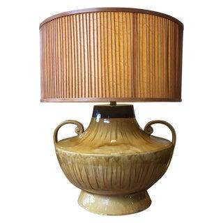 Crackle Glaze Ceramic Table Lamp