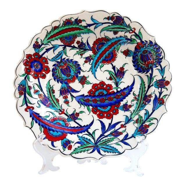 Fine Brush İznik Plate - Image 1 of 6
