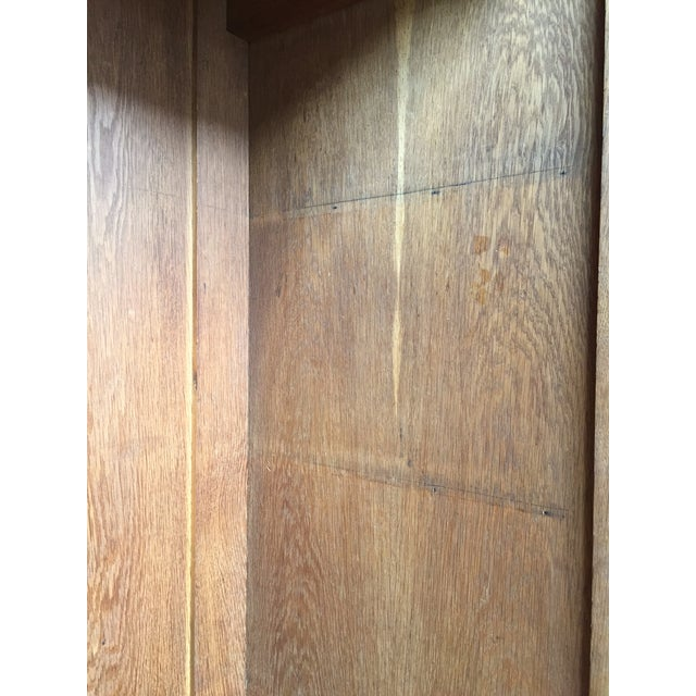 Image of August Ungethum Vintage Art Deco Sycamore Cabinet