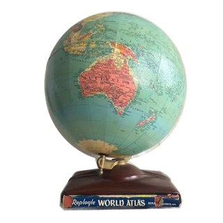 Vintage Globe & Atlas