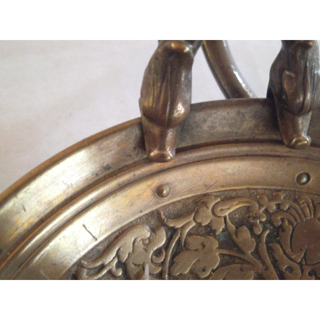 Bronze Chamber Candel Holders - A Pair - Image 6 of 11
