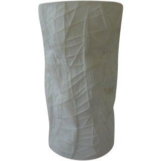 White Rosenthal Vase by Bjorn Wiinblad