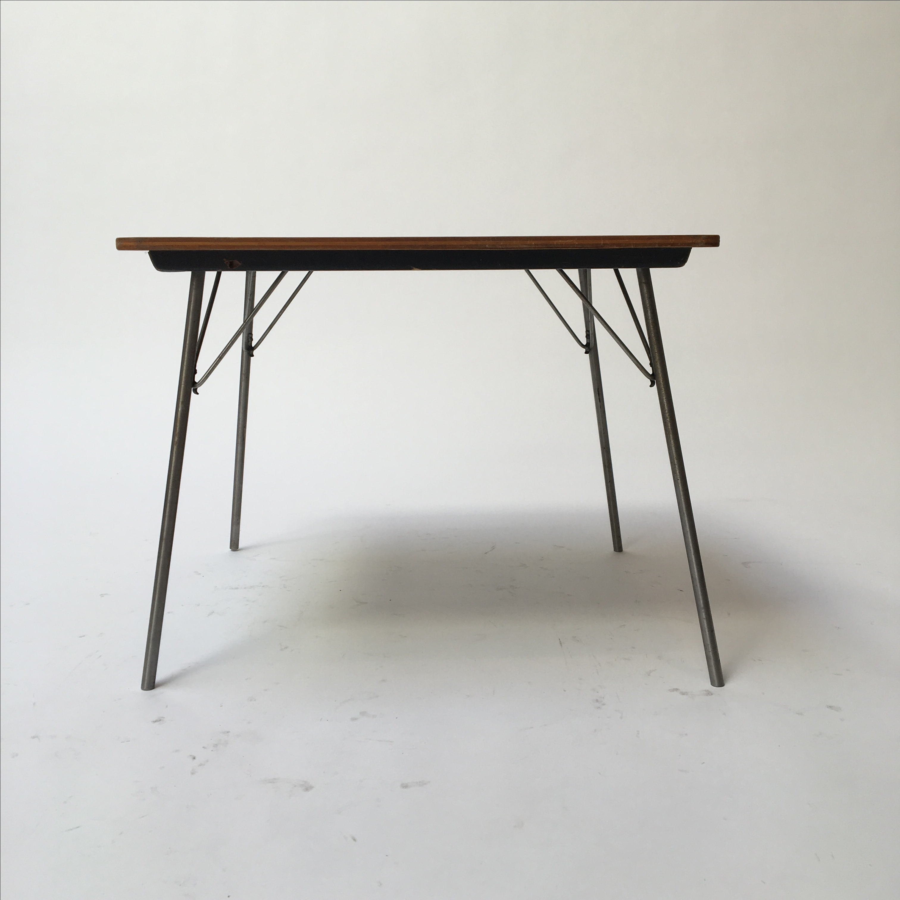 Awesome Vintage Eames IT 1 Child Size Folding Table   Image 4 Of 11