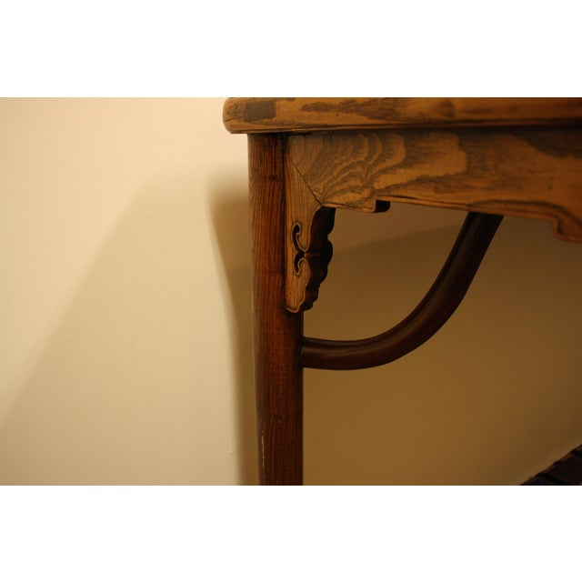 McGuire Asian Antique Chinese Console Table - Image 4 of 10