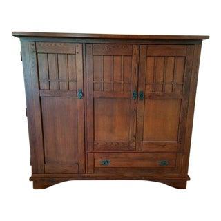 Hooker Furniture Oak Media Cabinet