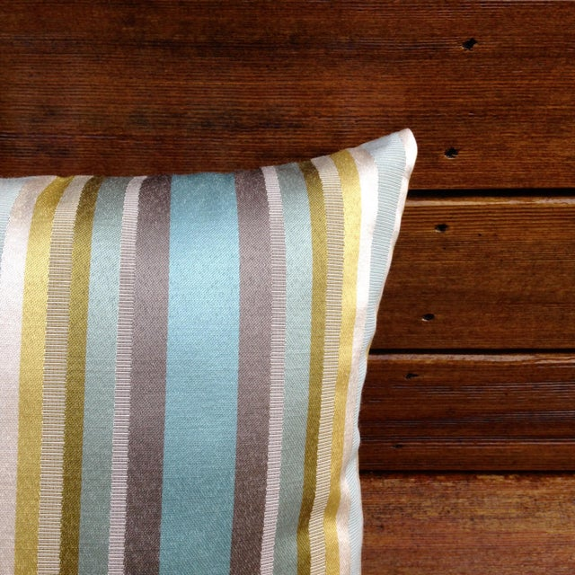 Multicolored Striped Pillow - Image 3 of 3