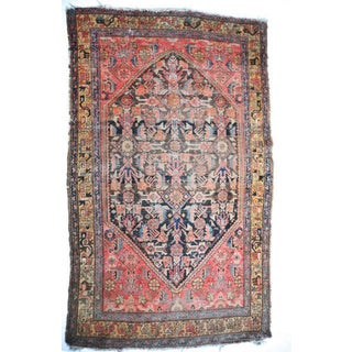 Antique Persian Malayer Rug - 4′3″ × 6′7″