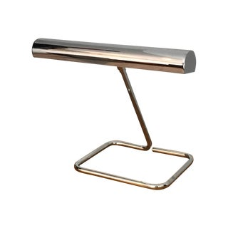 Mid-Century Koch and Lowy Chrome Desk Lamp