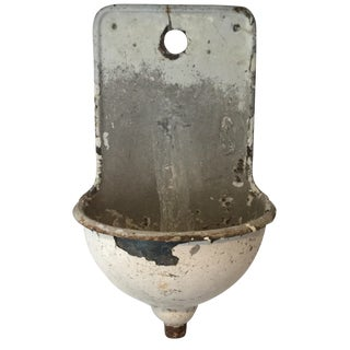 19th-C. French White Lavabo