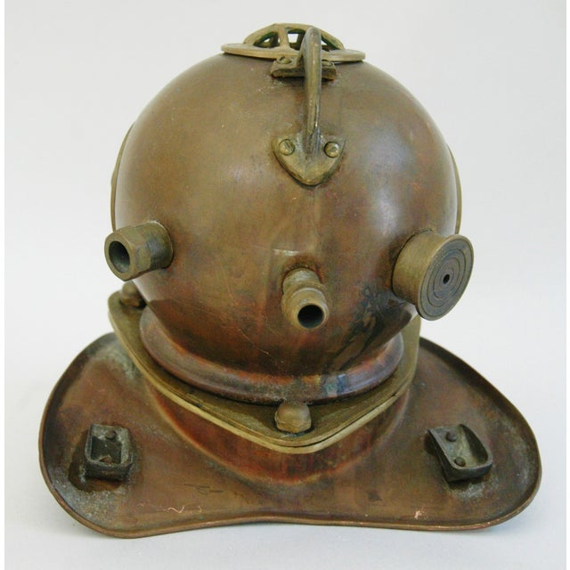 1960's Nautical Brass Diving Helmet - Image 6 of 9