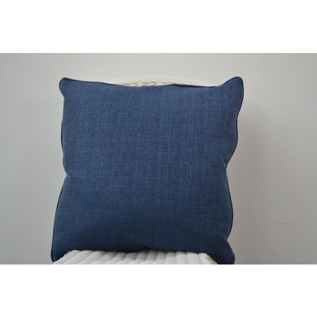 Blue & White Summer Pillows - A Pair - Image 4 of 5