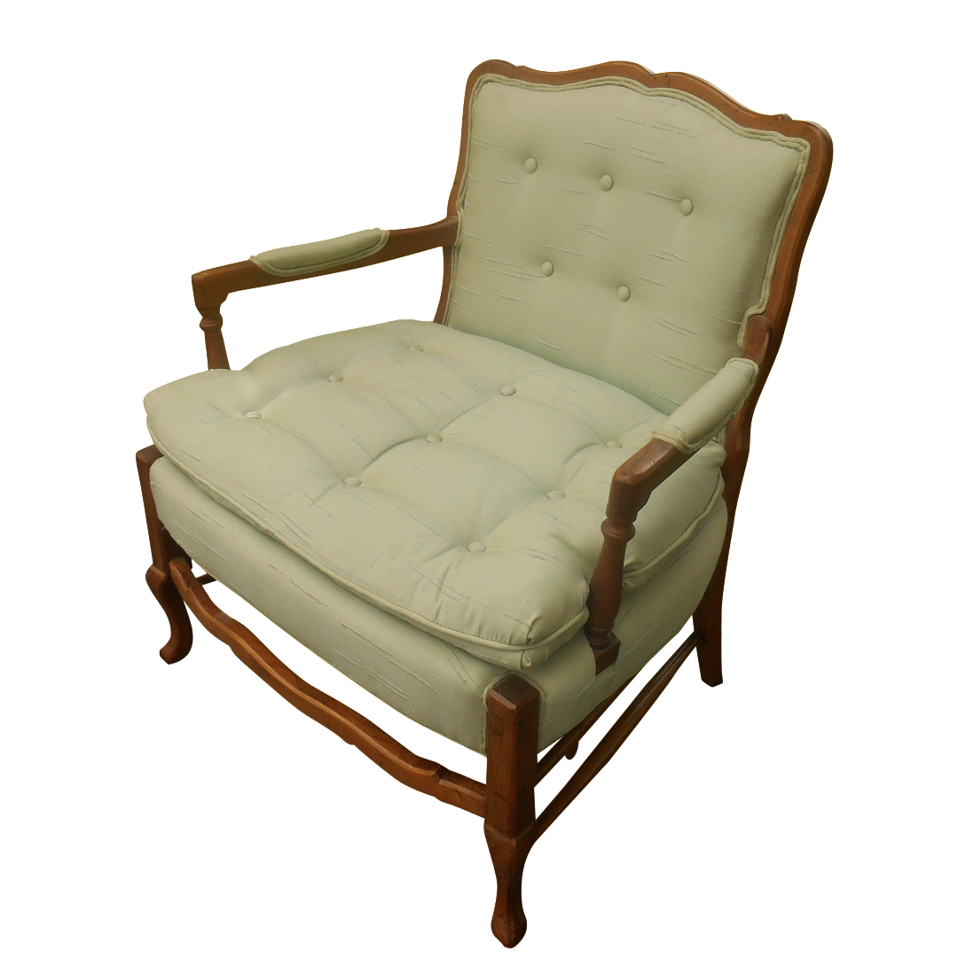 Lovely North Hickory Furniture Co. Lounge Chair   Image 1 Of 5