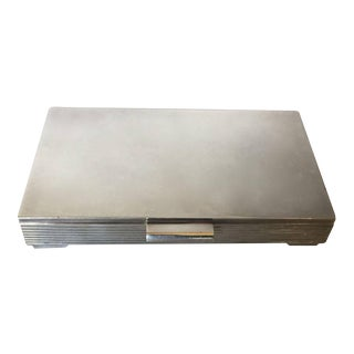 Georg Jensen Sterling Silver Keepsake Box No. 712C by Sigvard Bernadotte