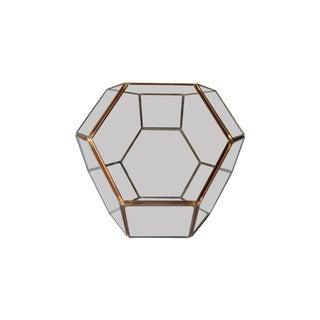 Glass Octagonal Terrarium