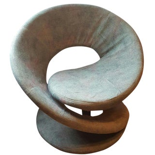 Green Spiral Lounge Chair