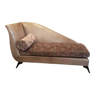Custom Leathercraft Chaise Lounge