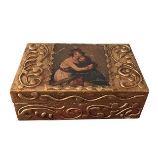Florentine Wooden Box