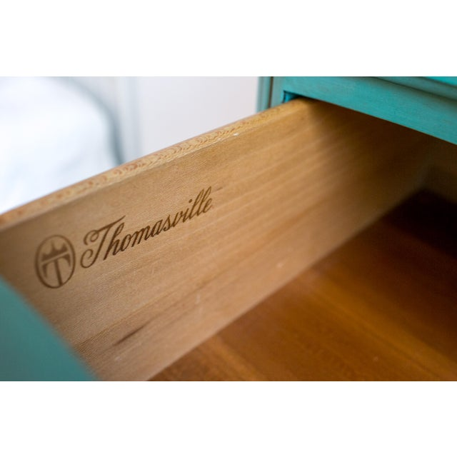French Blue Thomasville Dresser - Image 5 of 6