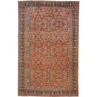 """Antique Mahal Persian Carpet - 18' x 11'6"""""""