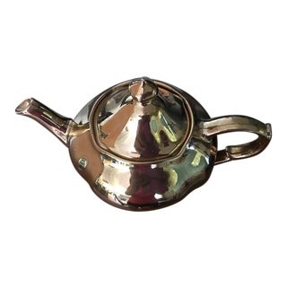 """Golden Age"" Royal Winton Grimwades Gold Tea Pot"