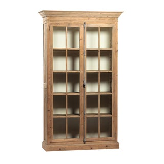 Wood & Glass Cabinet