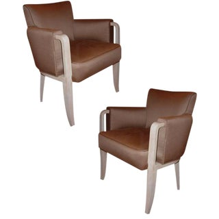 Paul Frechet Pair of Armchairs