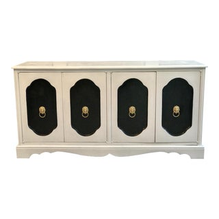 Black & White Contemporary Credenza