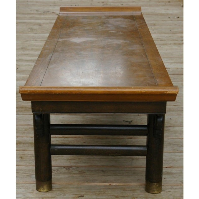 Baker Furniture Midcentury Japanese Low Table - Image 5 of 6