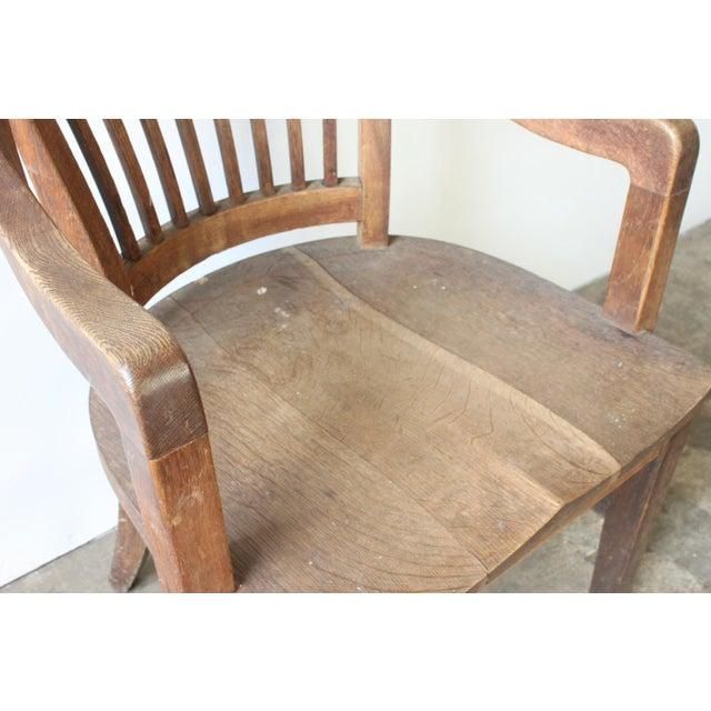 Oak of England Bank Chair - Image 4 of 4