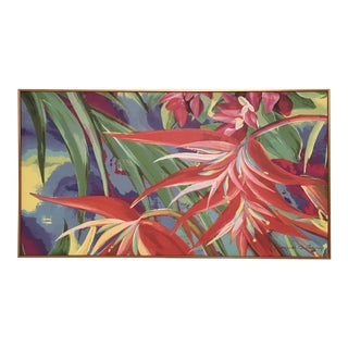 Jacques Quillery Costa Rican Flora Oil Painting