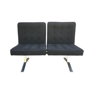 Vintage Modern 2 Seat Settee