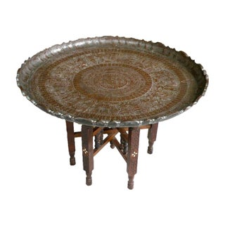 1920s Moroccan Pharaoh Table