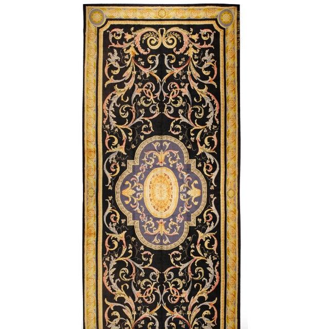 Antique Oversize Spanish Savonnerie Carpet - Image 1 of 1