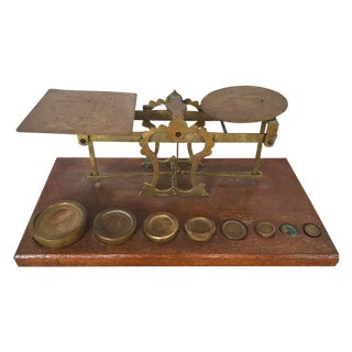 Antique English Postal Scale