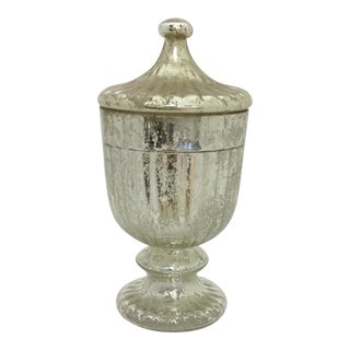 Mercury Glass Apothecary Jar