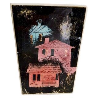 Sascha Brastoff California Ceramic Box