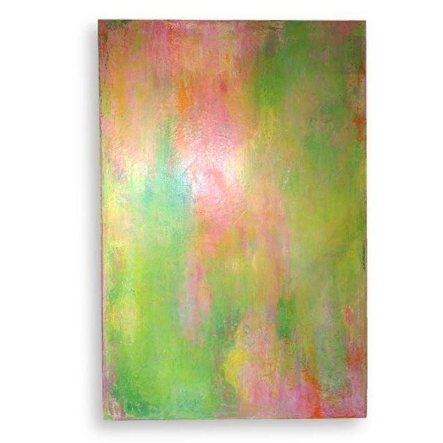"Image of Jo Mattison ""Orange Beach"" Painting"
