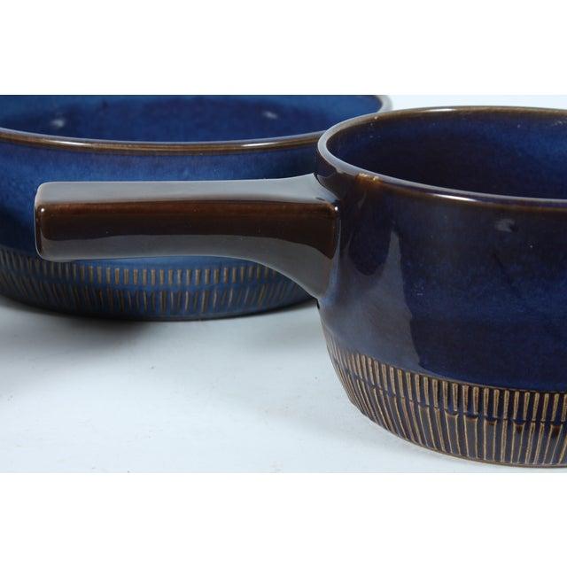 Image of Mid-Century Cobalt Bowls - Set of 3